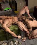 gay blowjobs in lingerie