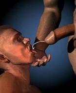 cute black gay guy sucking dick