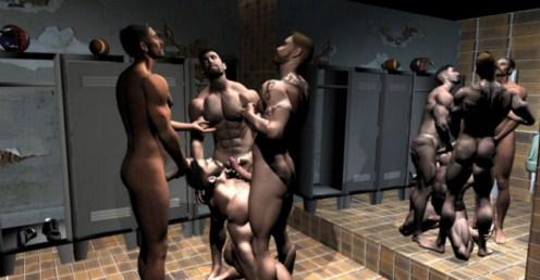 gay dark black men