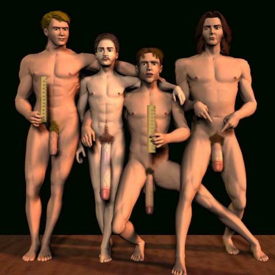 shaving balls and gay tube