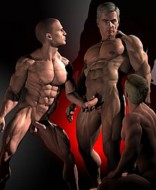 black interrarcial dominant gay
